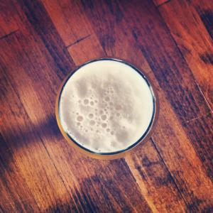 Photo of a glass of beer.