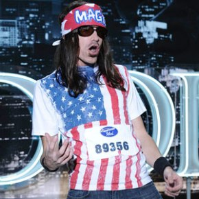 Photo of Magic Cyclops performing on American Idol.