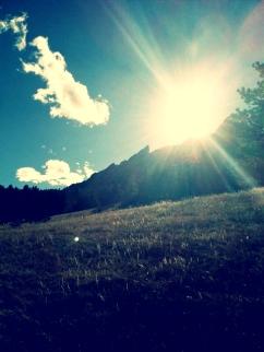 boulder sun
