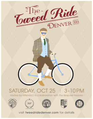 The Denver Tweed Ride 2014 Web Flyer